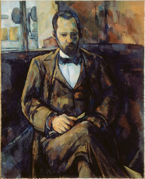 Portrait of Ambroise Vollard by Paul Cézanne (1899)