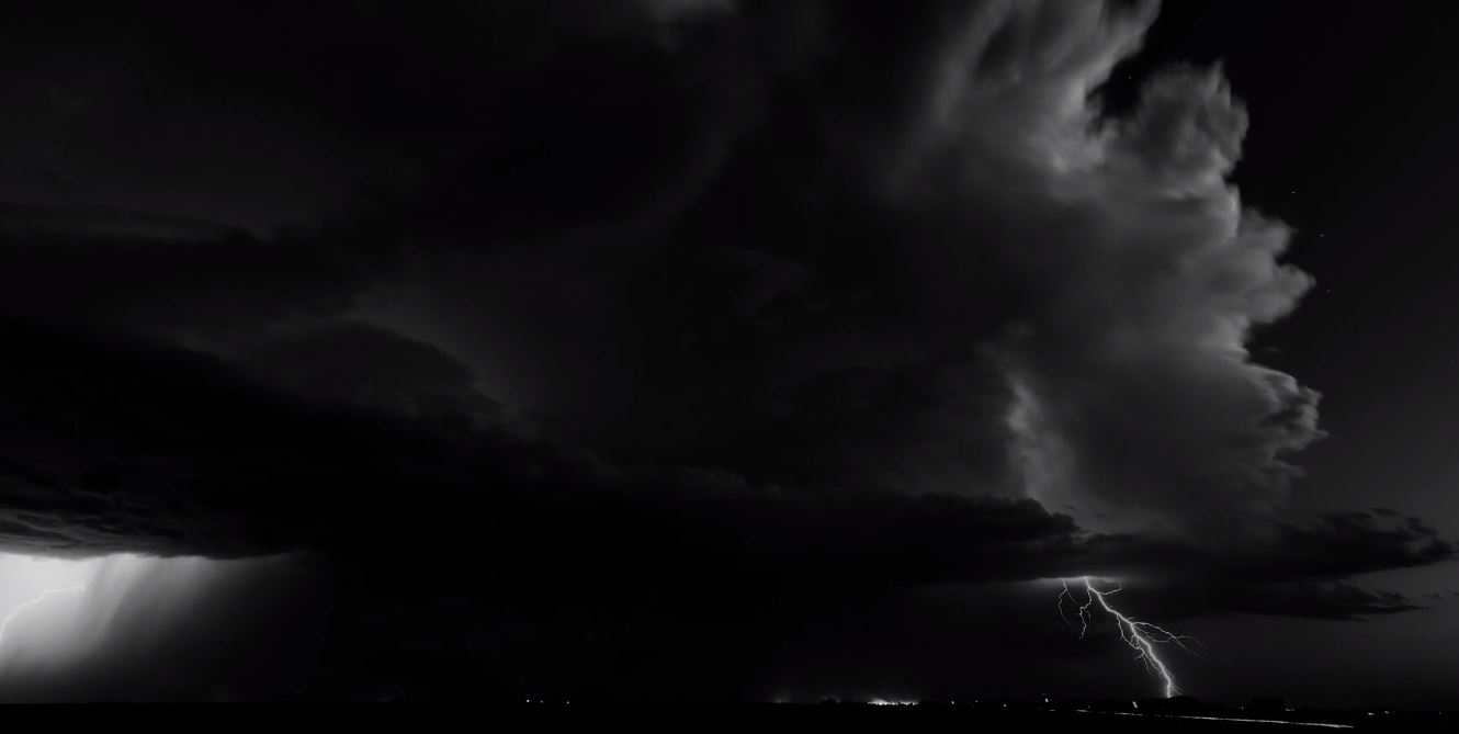 Reverent Black and White Weather and Storm Timelapse video by Mike Olbinski January 21 2020