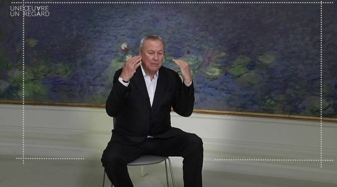 "Fine Art: 79-Year Old Renowned Stage Director Robert Wilson On Monet's ""Water Lilies"" (Video)"