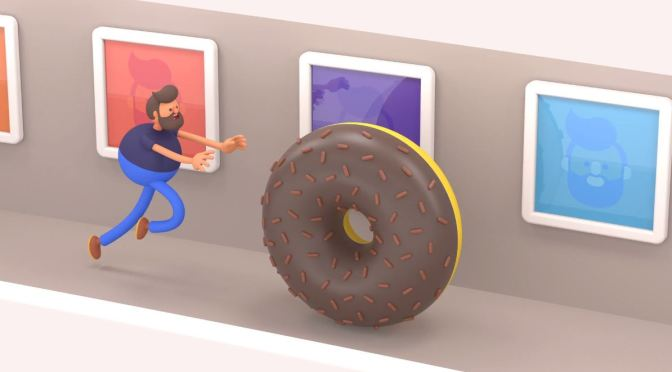 """Animation Artists: James Curran Creates World's Top """"Looping GIF's"""" (Video)"""