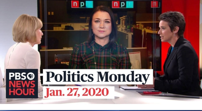 "News: Tamara Keith And Amy Walter On ""Politics Monday"" (PBS Video)"