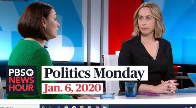 Political News: Tamara Keith And Lisa Lerer On Politics Monday (PBS)