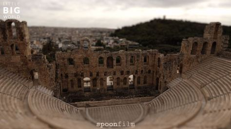 The Essence of Athens Timelapse Tilt Shift Video by Joerg Daiber January 13 2020