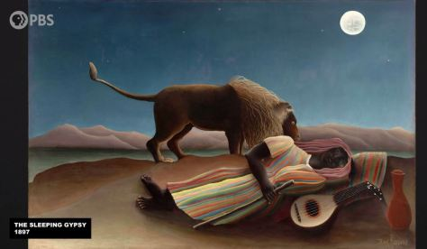 The Sleeping Gypsy 1897 Henri Rousseau