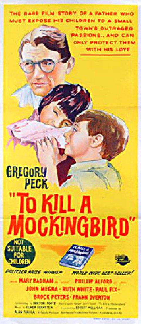 To Kill A Mockingbird 1962 Movie starring Gregory Peck