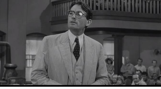 "Movie Scenes: Atticus Finch (Gregory Peck) Closing Argument In ""To Kill A Mockingbird"" (1962)"