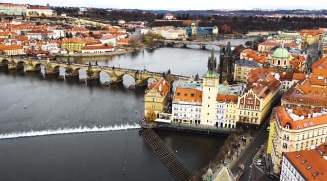 """Top New Travel Videos: """"Best Of Prague – Aerial 4K"""" By Marek Bubenik"""