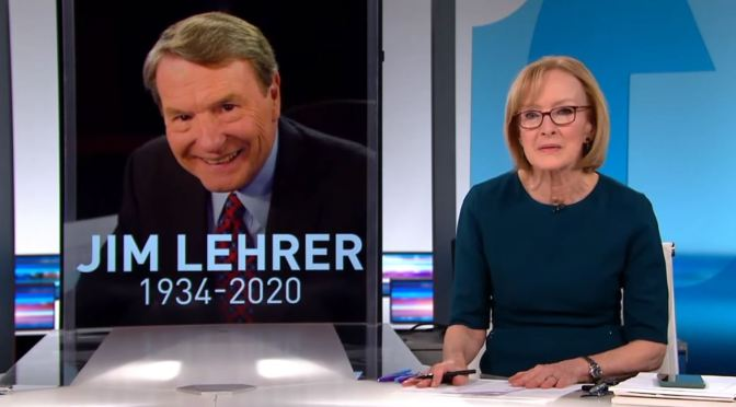 Tributes: Journalist Jim Lehrer Dies At 85 (PBS)