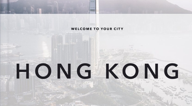 "New Travel Books: ""Hong Kong – Trope City Edition"""