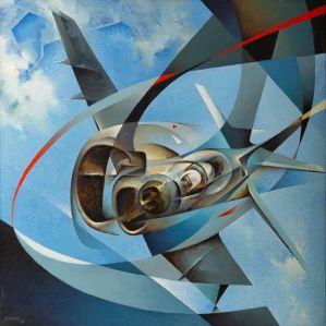 Tullio Crali - Jonathan Monoplane 1988