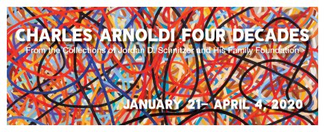USC Fisher Museum Of Art Charles Arnoldi Four Decades Exhibit January 21 - April 4 2020