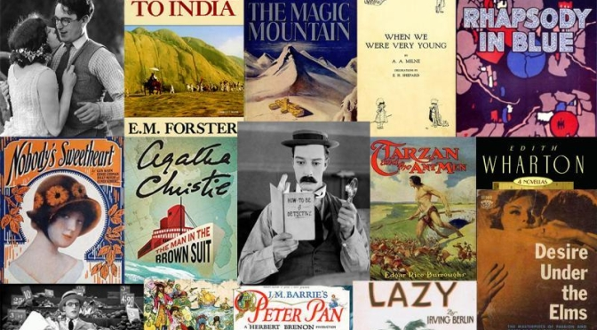 2020: Major Books, Films And Music From 1924 Enter U.S. Public Domain