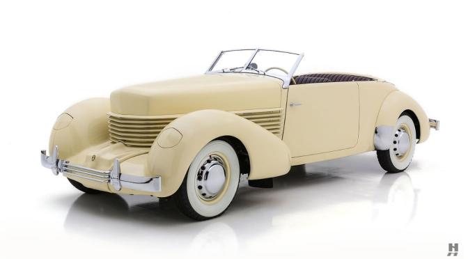 "American Classics: ""1937 Cord 812"" – Front Wheel Drive, Hidden Headlights"