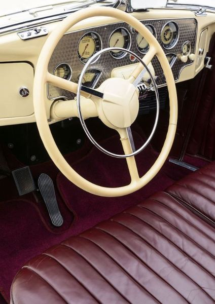 1937 Cord 812 Interior Classic Driver