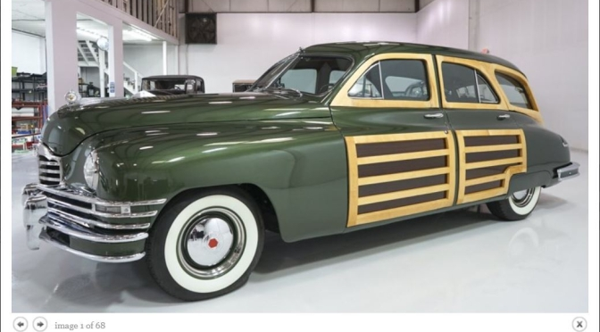 "American Classic Cars: ""1948 Packard Standard Eight Station Sedan"""