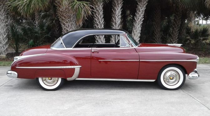 "Classics: ""1950 Oldsmobile 88 Holiday Coupe"""