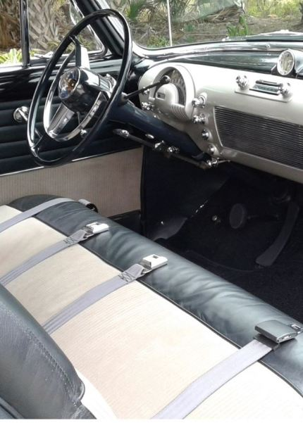 1950 Oldsmobile 88 Holiday Coupe Interior Classic Driver