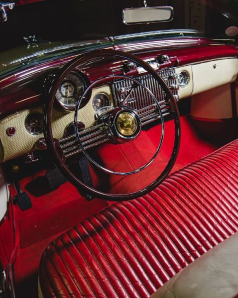 1953 Buick Skylark Convertible Interior RM Sotheby's Auctions