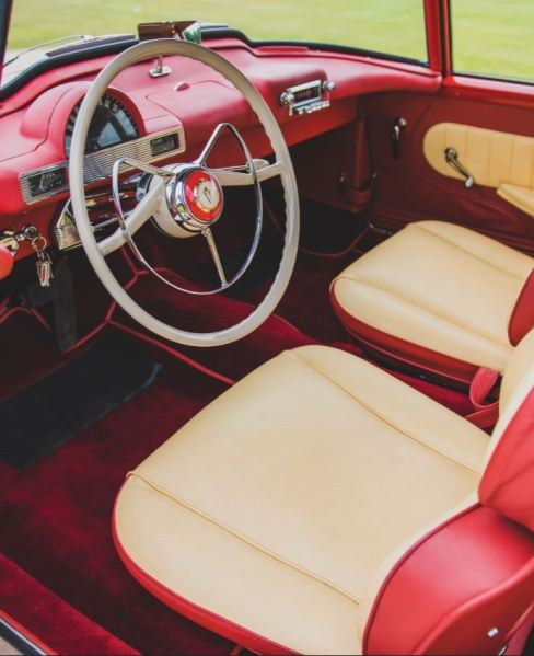 1955 Hudson Italia Interior RM Sotheby's