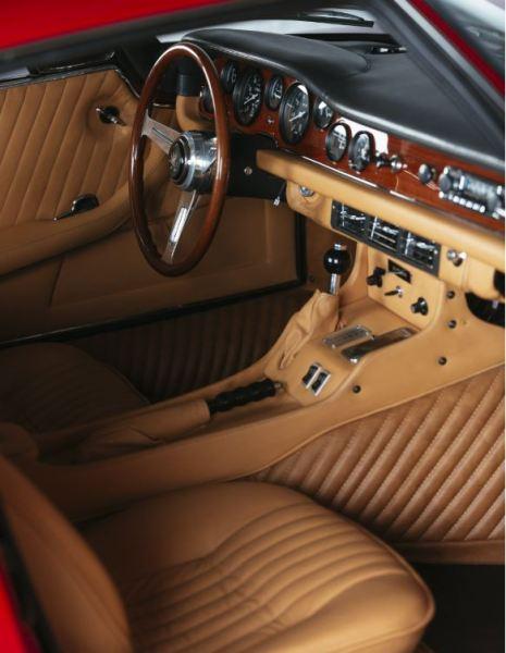 1970 Iso Grifo Interior Classic Driver