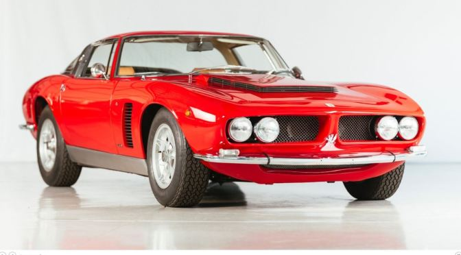 "Classic Cars: The ""1970 Iso Grifo"" – Italian Styling And Chevrolet Engine"