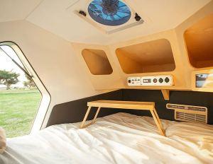 2020 POLYDROP KJ-20 Fully Loaded Camper Trailer interior bed