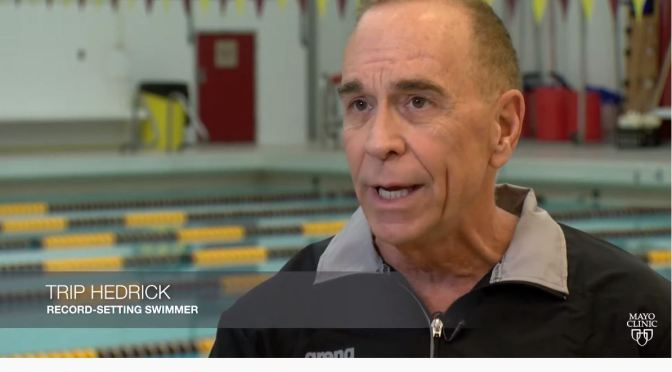 Profiles: 65-Year Old Competitive Swimmer Sets Records Despite Heart Disease (Mayo Clinic)