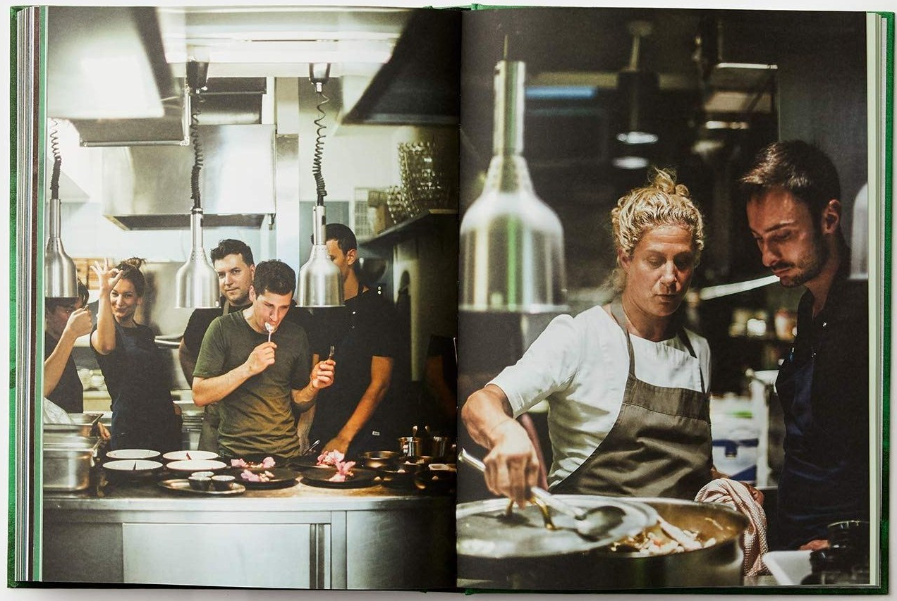 Ana Roš Sun and Rain Monograph book kitchen