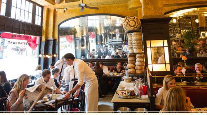 "Destination Restaurants: Eating Breakfast At ""Balthazar"" In New York"