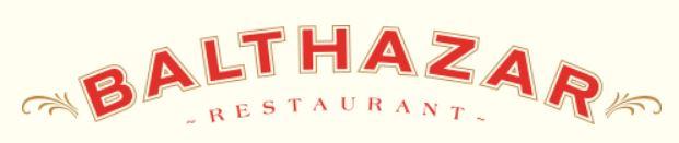 Balthazar Restaurant NYC Logo