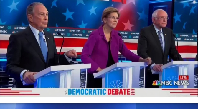 Politics: Highlights Of February 19 Democratic Debate In Nevada (Video)