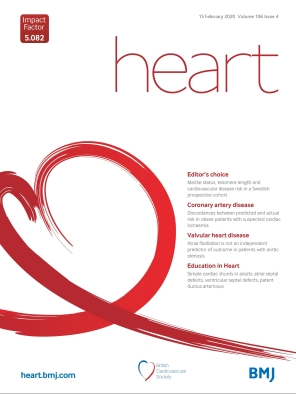 BMJ Open Heart Journal February 2020