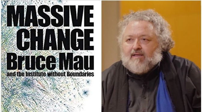 """Video Profiles: 60-Year Old Canadian Designer Bruce Mau – """"Beauty Of Books"""""""