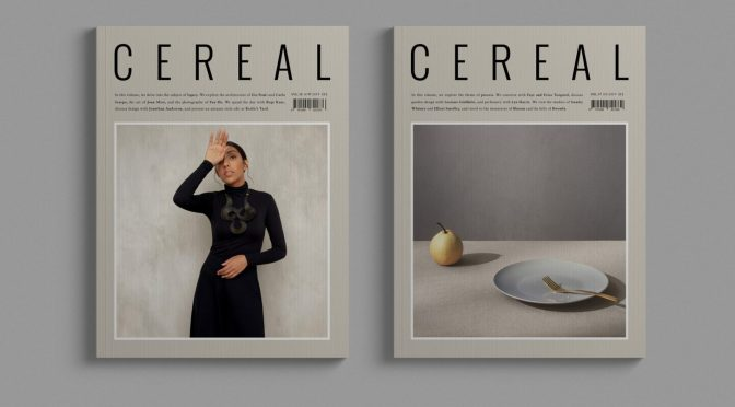 "Podcast Interviews: Travel & Style Magazine ""Cereal"" Editor Rosa Park"