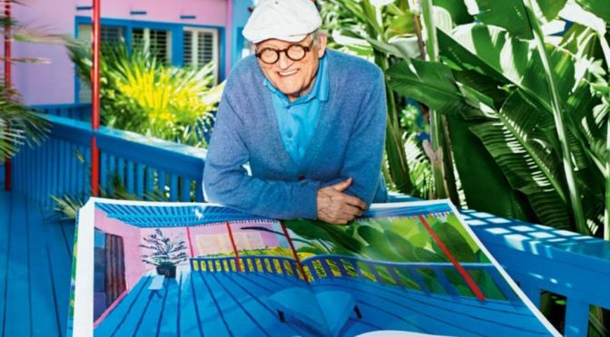 Profiles: How The 1960's Inspired Painter David Hockney, Now 82 (Video)