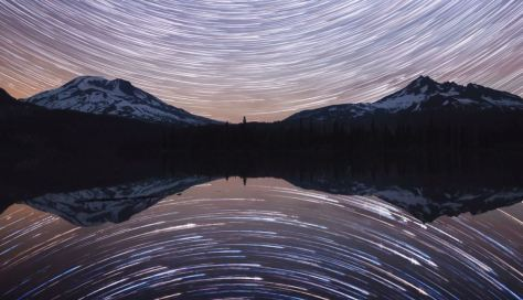 Drifting Through The Night Startrails Timelapse 4k by Michael Shainblum video February 12 2020