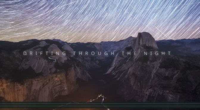 "Timelapse Travel Videos: ""Drifting Through The Night – Startrails"" By Michael Shainblum (2020)"