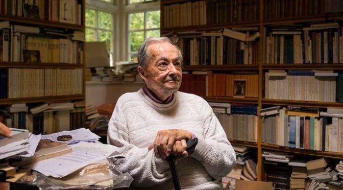 Tributes: 90-Year Old Literary Critic & Novelist George Steiner (1929-2020)