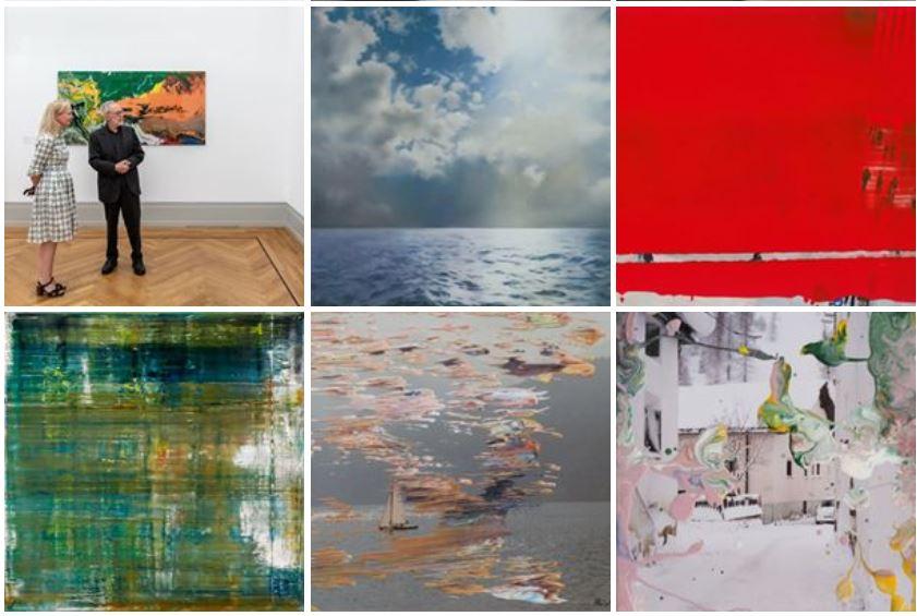Gerhard Richter Paintings Facebook
