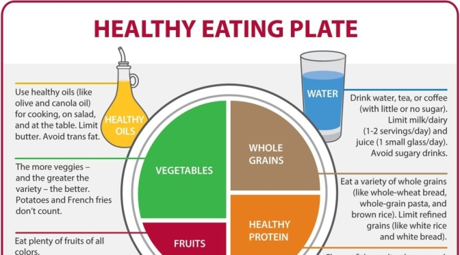 "Nutrition Infographic: Harvard Unveils A ""Healthy Eating Plate"" As Guide For Balanced Meals"
