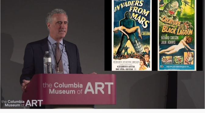 "Art Lecture Videos: The History Of Hollywood ""Horror Movie Posters"" (Columbia Museum Of Art)"