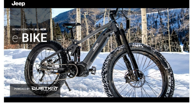 "Trends: ""2020 Jeep E-Bike"" Unveiled – 40 Mile Range For Off-Road Terrain"