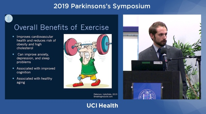 "Health: Parkinson's Disease And The ""Overall Benefits Of Exercise"""
