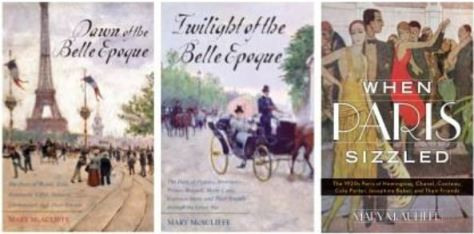 Mary McAuliffe books on Paris