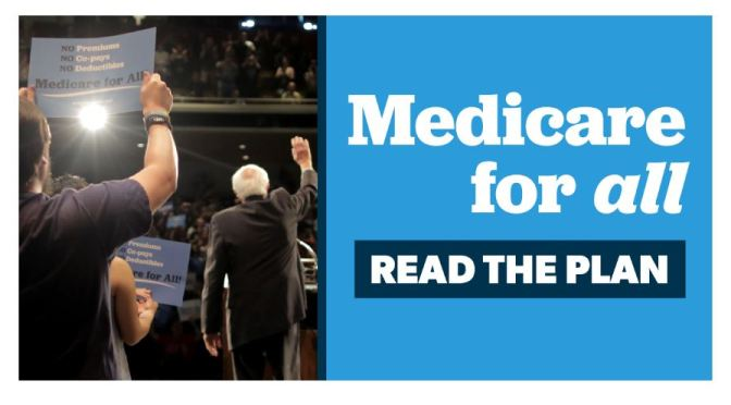 "Politics: Bernie Sanders ""Medicare For All"" (NPR)"