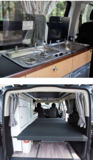 Mercedes-Benz Metris Weekender Camper Van Interior 2020