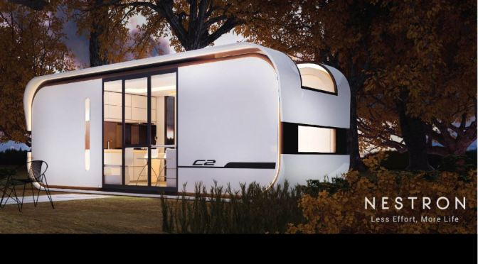 "Housing: ""Nestron"" Is First Prefab, Fully Integrated Smart Home In The World"