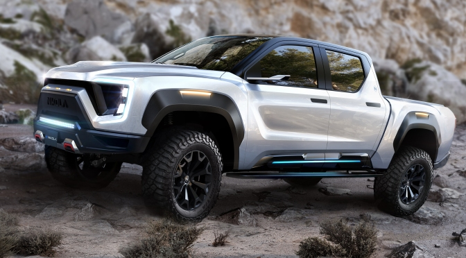 "Truck Tech: ""2020 Nikola Badger"" Electric Pickup Will Have 600 Mile Range"