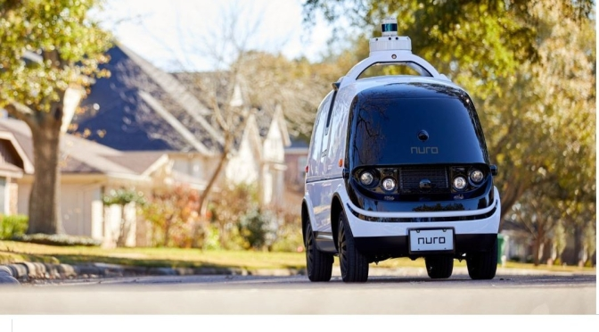 "Trends: ""Nuro"" Receives First Self-Driving Delivery Vehicle Exemption (USDOT)"