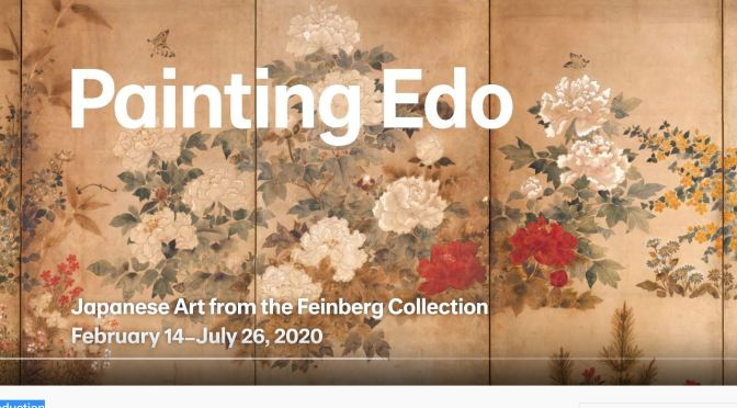 "Top Exhibitions: ""Painting Edo: Japanese Art from the Feinberg Collection"""